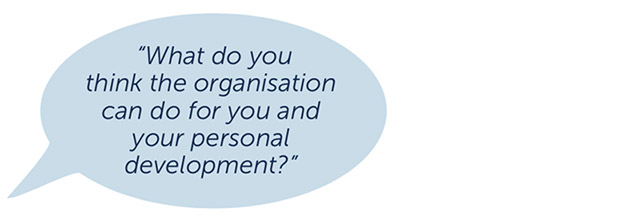 A workplace away from the workplace: A reflection on the supporting role of an organisation